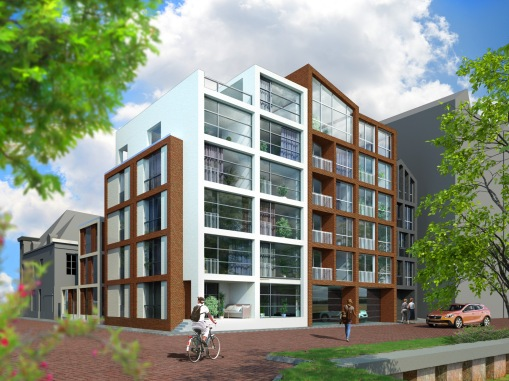 Hof van Thorbecke, Canalsite Residential Complex, Zwolle, The Netherlands