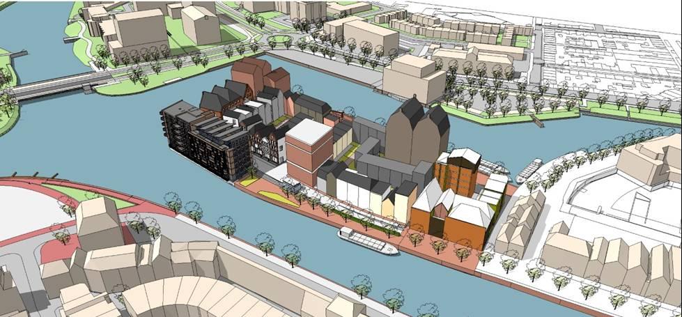 Hof van Thorcke urban plan 04