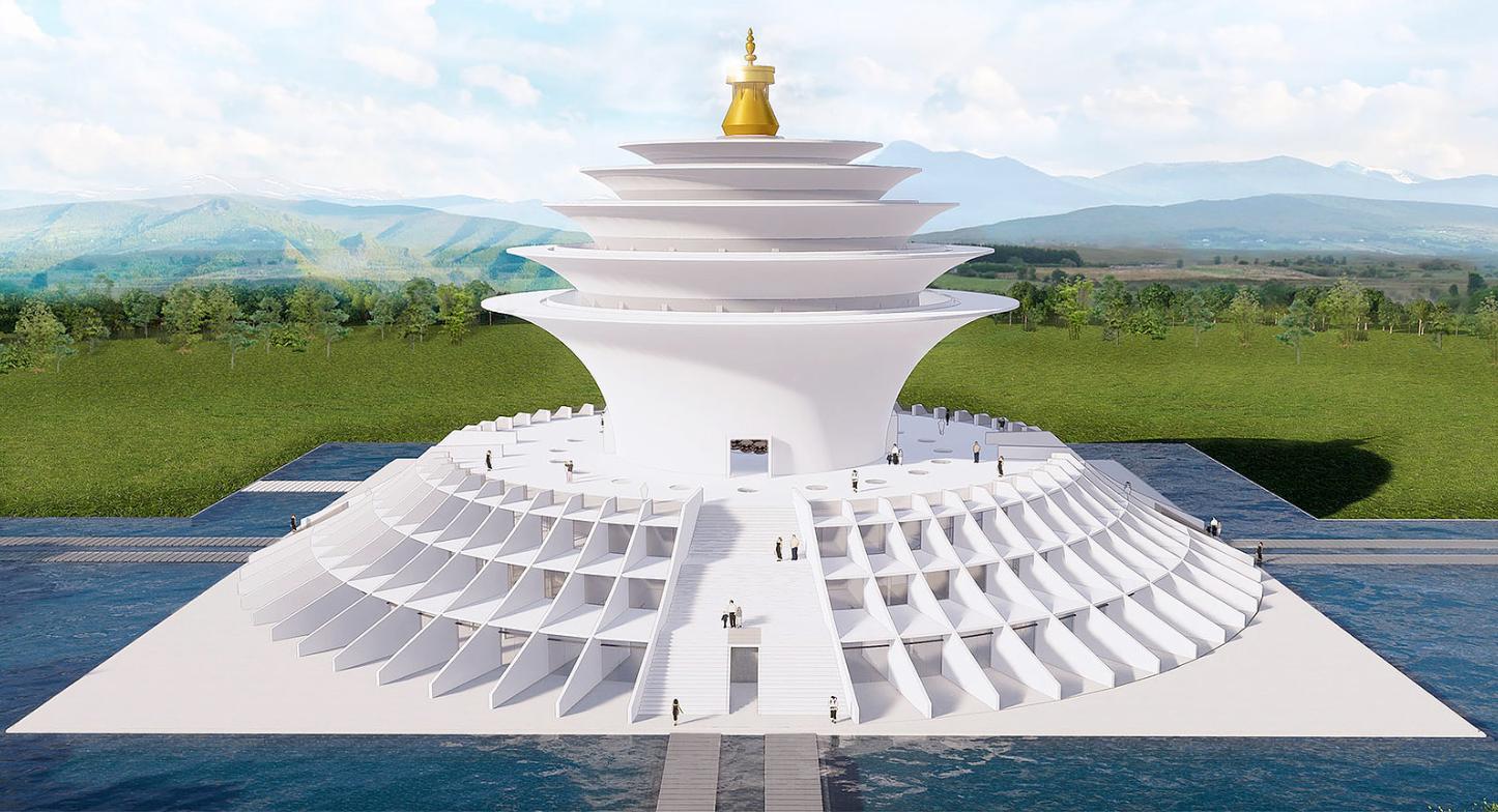 Mahasiddha Sanctuary for Universal Peace, Lumbini, Nepal 06